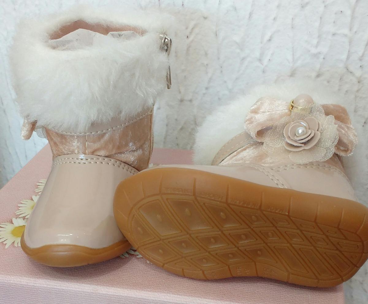 6f0b5a4f91c bota infantil menina - 16 ao 20 - nude - pronta entrega. Carregando zoom.