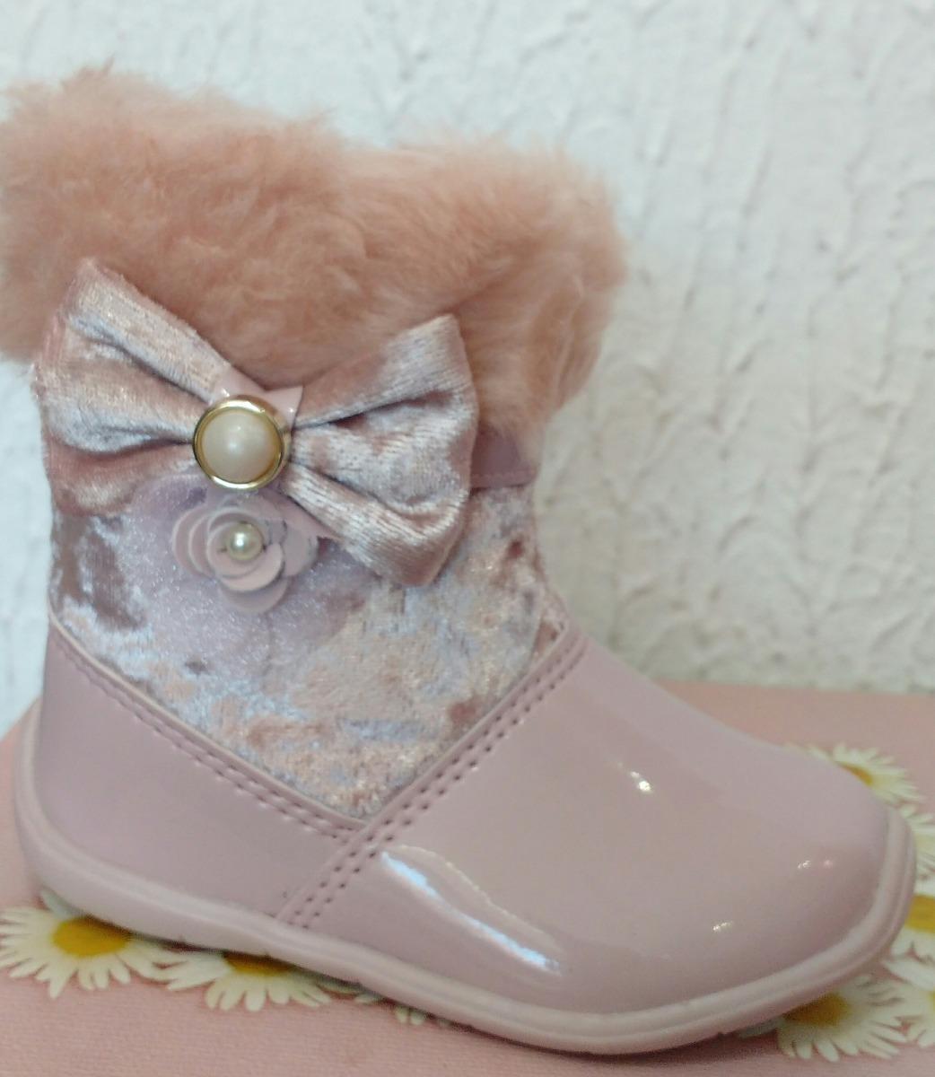 793c254ffe8 bota infantil menina - 16 ao 20 - rosa - pronta entrega. Carregando zoom.