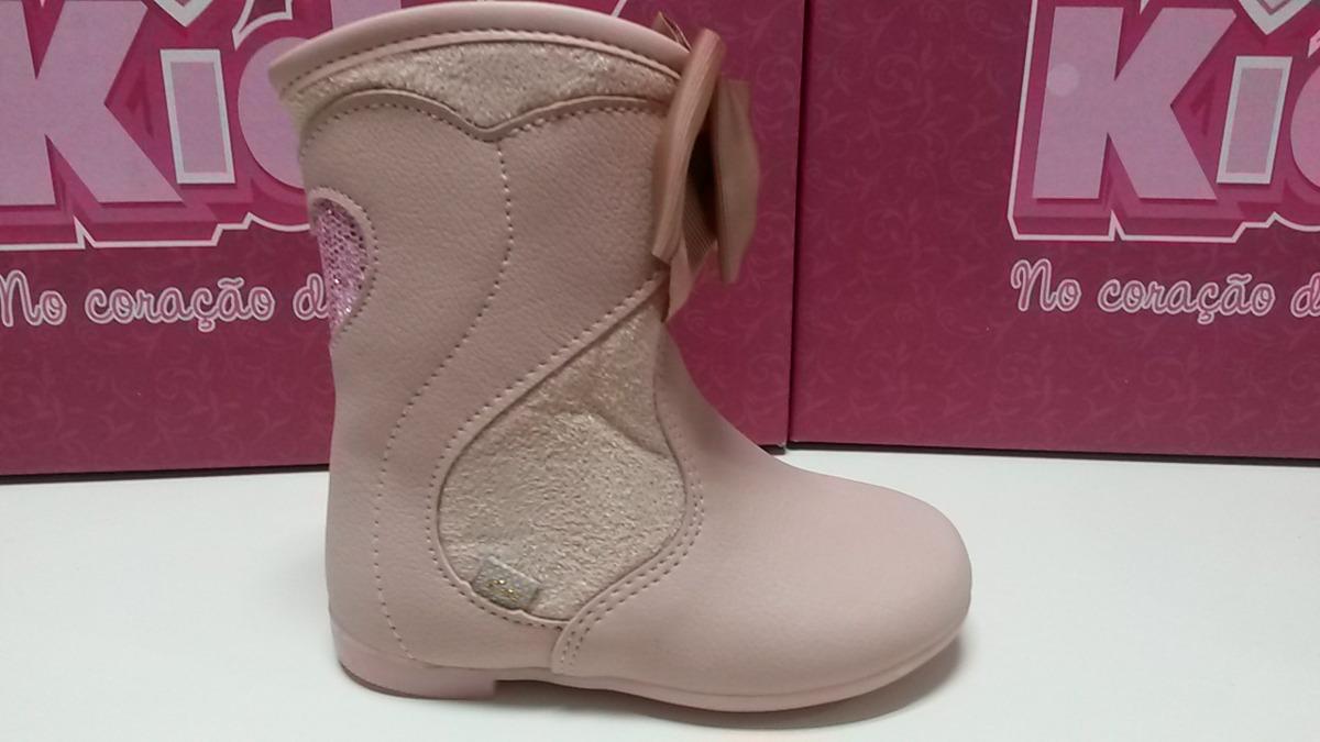8f1383d8acc bota infantil menina cor rosa tamanhos 18 ao 24 kidy- 20090. Carregando zoom .
