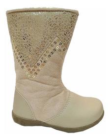 5f2b69d1a48e8d Bota Infantil Rasteira Flat Yahup 03-045 - Maico Shoes