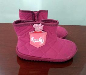 ec2bc015fff Velotrol Peppa Pig Botas Meninas - Sapatos no Mercado Livre Brasil