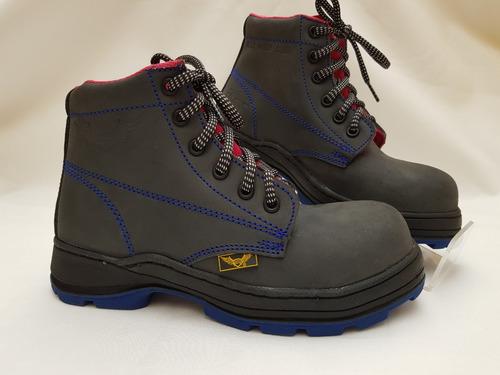 bota iron wings° 229l casquillo calzado industrial para dama