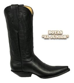 nueva colección f193e 84730 Bota Jaca Punta Clasica Negro Tacon Cubano