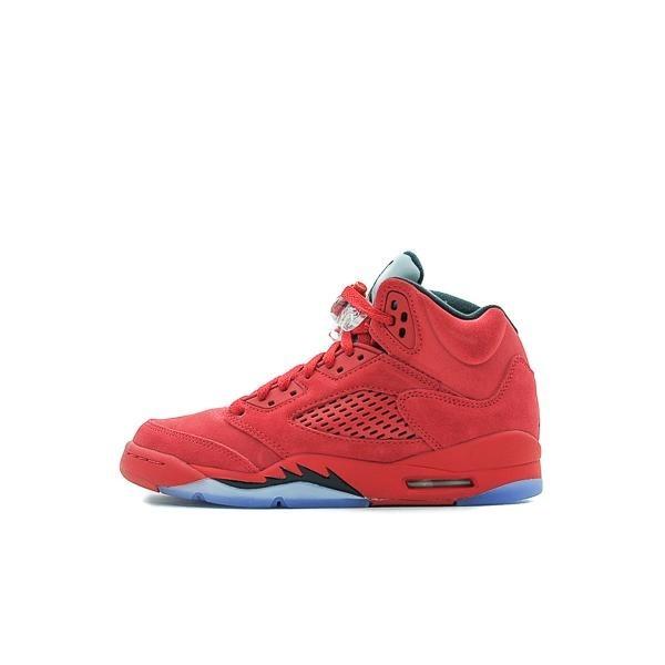 8492e8e9983 Bota Jordan Boys  Air Jordan 5 Retro Rojo Junior -   4