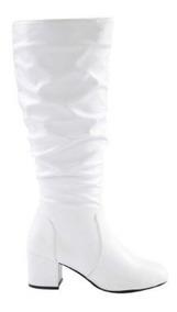 Bota Larga Para Dama Yaeli Blanco 179749 Bo 19 J