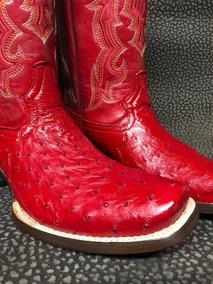 bee313de01 Zapatos De Piel De Avestruz Rojos en Mercado Libre México