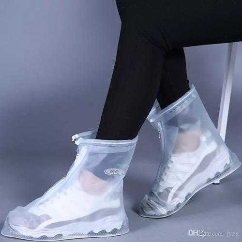 bota lluvia impermeable funda zapato tallas l, xl. xxl. xxxl