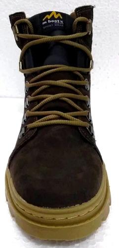 bota m boot's mb kil marrom - nota fiscal
