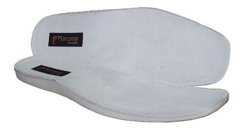 bota masculina botina confortável couro carneiro ranster