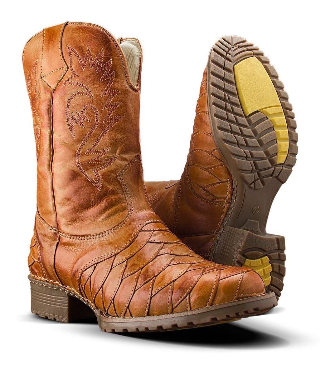 c81014c663 bota masculina botina texana escamada country couro legitimo. Carregando  zoom.