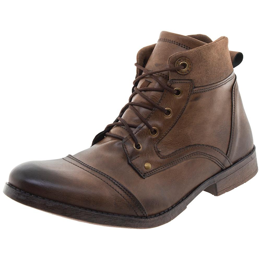ef8ae886d1 bota masculina café bkarellus - 1344. Carregando zoom.