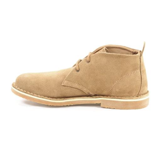 bota masculina camurça marrom kildare