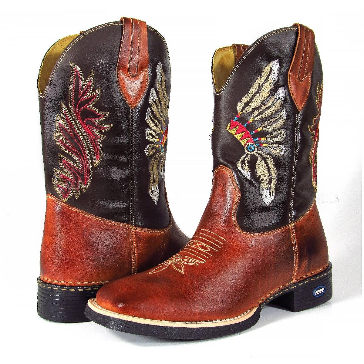 ... Bota Masculina Cano Longo Texana Country Bico Quadrado 279a68f7c0d561  ... 89930e8383be7