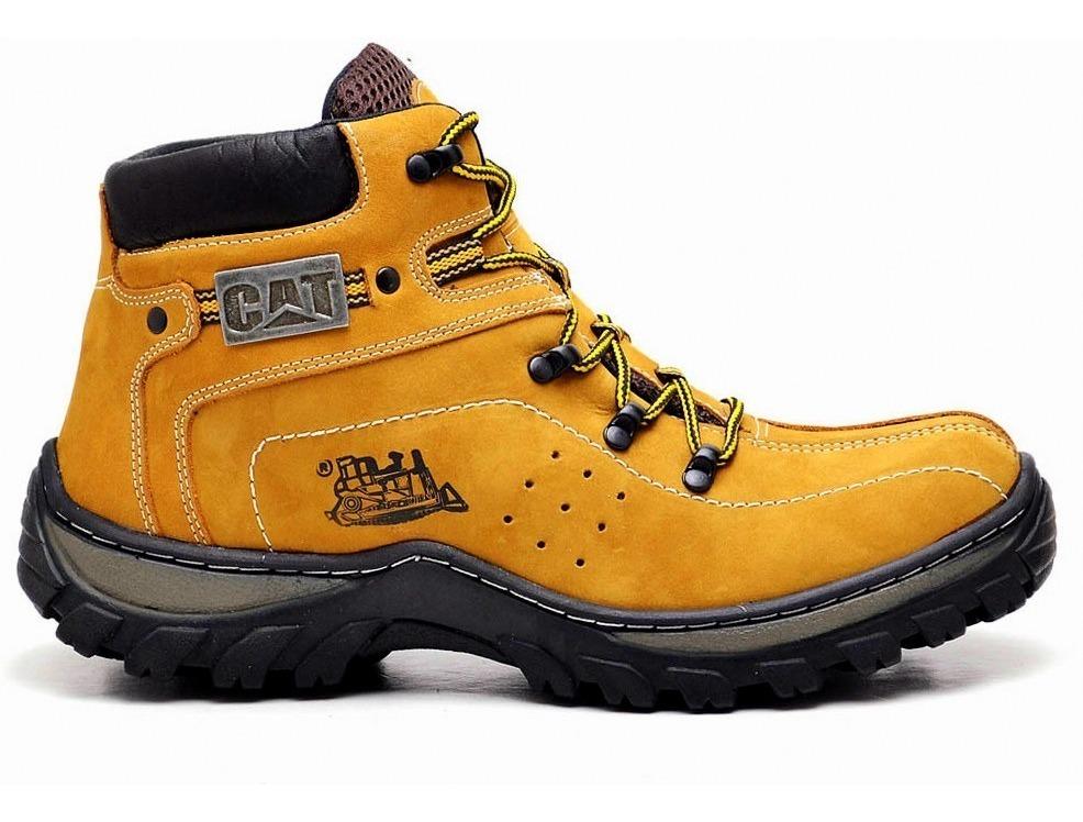 56768075b7 bota masculina caterpillar adventure trekking em promoção. Carregando zoom.