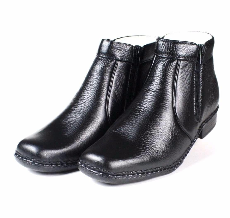 509a44dbca bota masculina com ziper couro legítimo butina palmilha gel. Carregando  zoom.