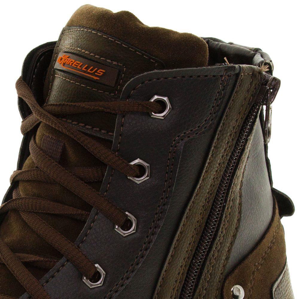 7a68a4311e bota masculina coturno café bkarellus - 1225. Carregando zoom.