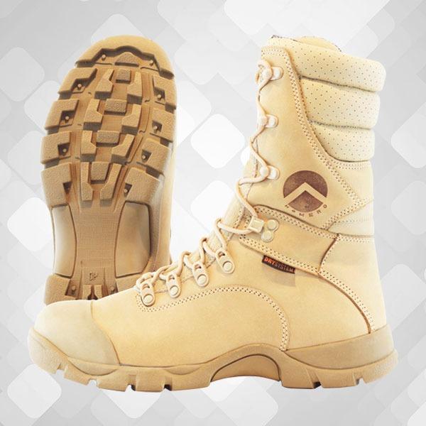 ce3de2856 Bota Masculina Coturno Militar Cano Alto - Desert - Homero U - R$ 339,90 em  Mercado Livre