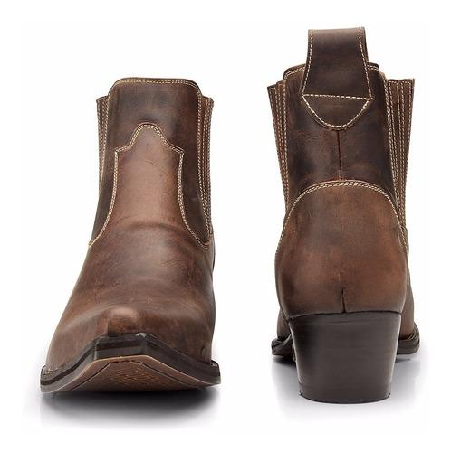 bota masculina country - bico fino - capelli boots