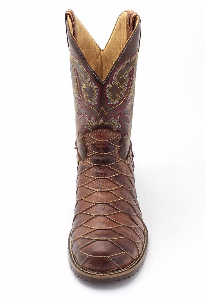 ... bota masculina country texana escamada couro legítimo longo. Carregando  zoom. 2ee75fc70fcf4b  Bota Coturno Feminina Cano Curto ... 116da162b0f9f