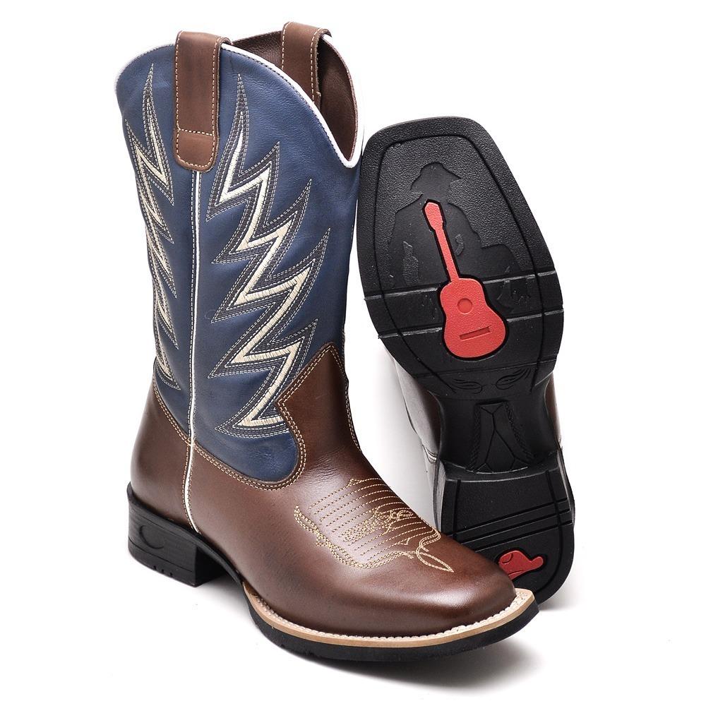 bota masculina country texana peao rodeio couro sapatofranca. Carregando  zoom. 3ea7881003d