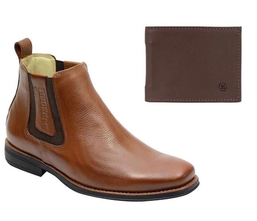 790cf3994 bota masculina de franca sp couro legitimo carteira brinde. Carregando zoom.