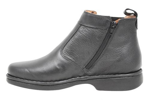 bota masculina franca brasil conforto antistress 690