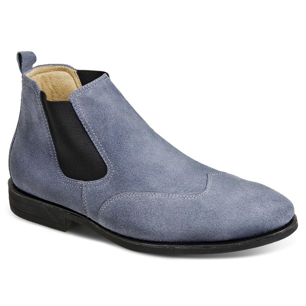 2adf2ff04d6 bota masculina sandro moscoloni classic chelsea jeans. Carregando zoom.