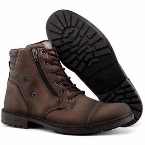 43b7348a902 Bota Masculina Sapato Coturno Casual Super Leve C ziper