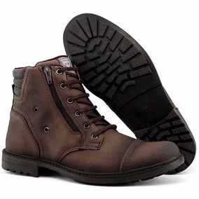 978e67bb00a Bota Masculina Sapato Coturno Casual Super Leve C ziper - Botas ...