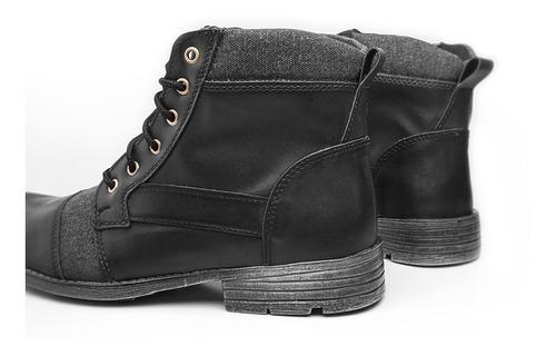 bota masculina sapato coturno trabalho leve casual zalupe