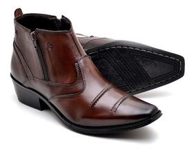 e133e24180 Sapato Social Country Masculino - Botas Masculinas com o Melhores Preços no  Mercado Livre Brasil