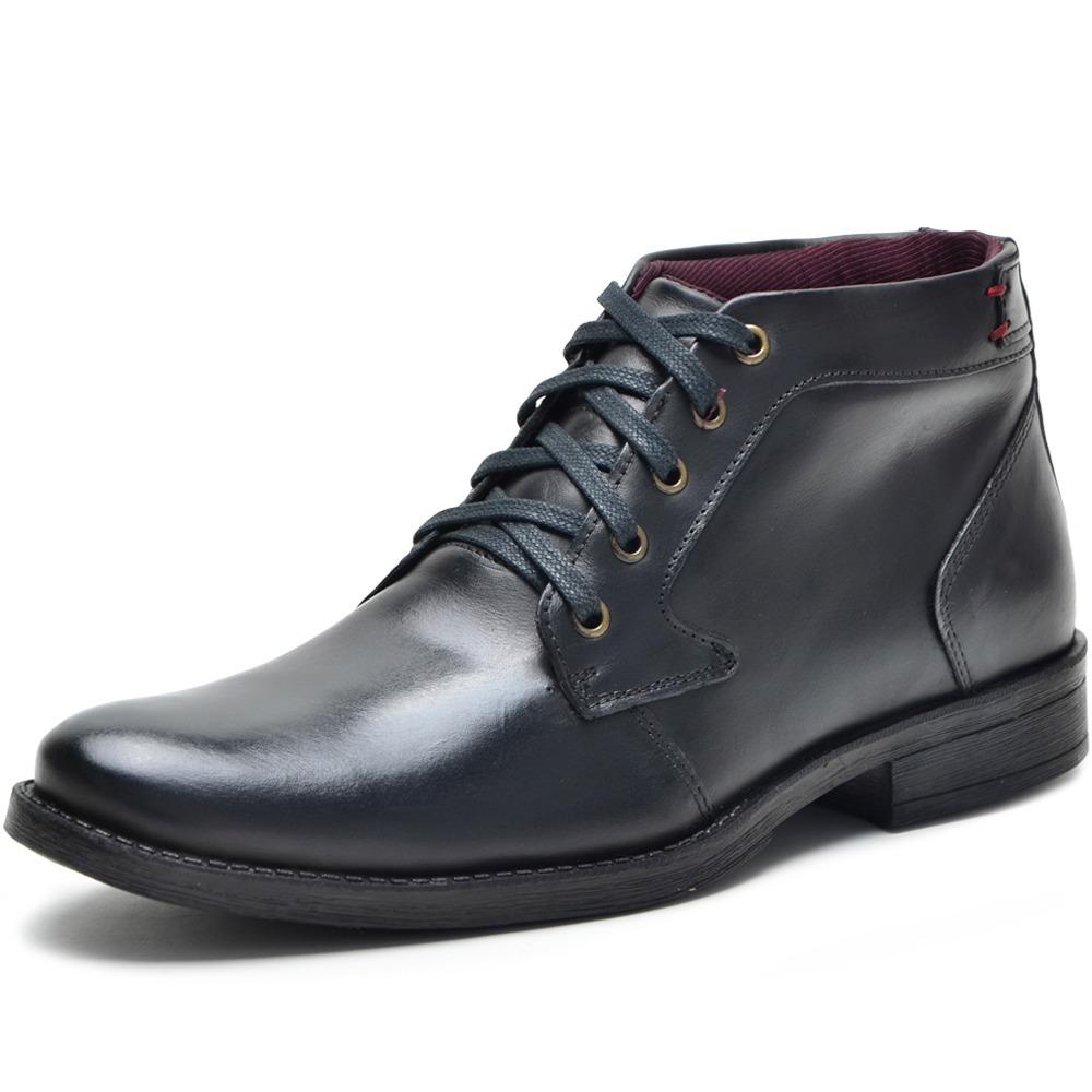 48a2018b50 bota masculina social casual cano medio couro legitimo. Carregando zoom.