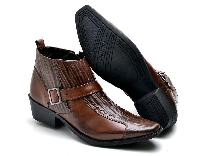 a83e7e0183 bota masculina texas couro legítimo reta oposta bico fino. Carregando zoom.
