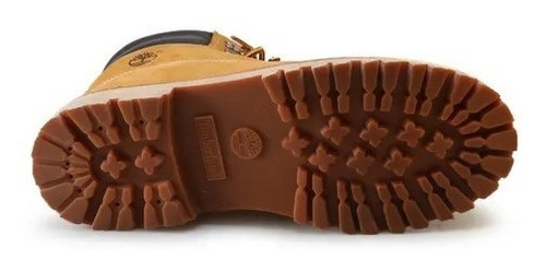 bota masculina timberland couro brooklyn boot wheat original