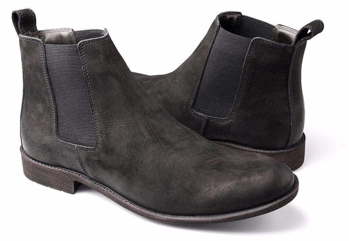 72ed5ad2208 bota masculina urbana chelsea boots botina couro cano baixo. Carregando  zoom.
