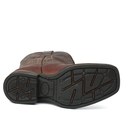 bota masculina vilela havana / café 180