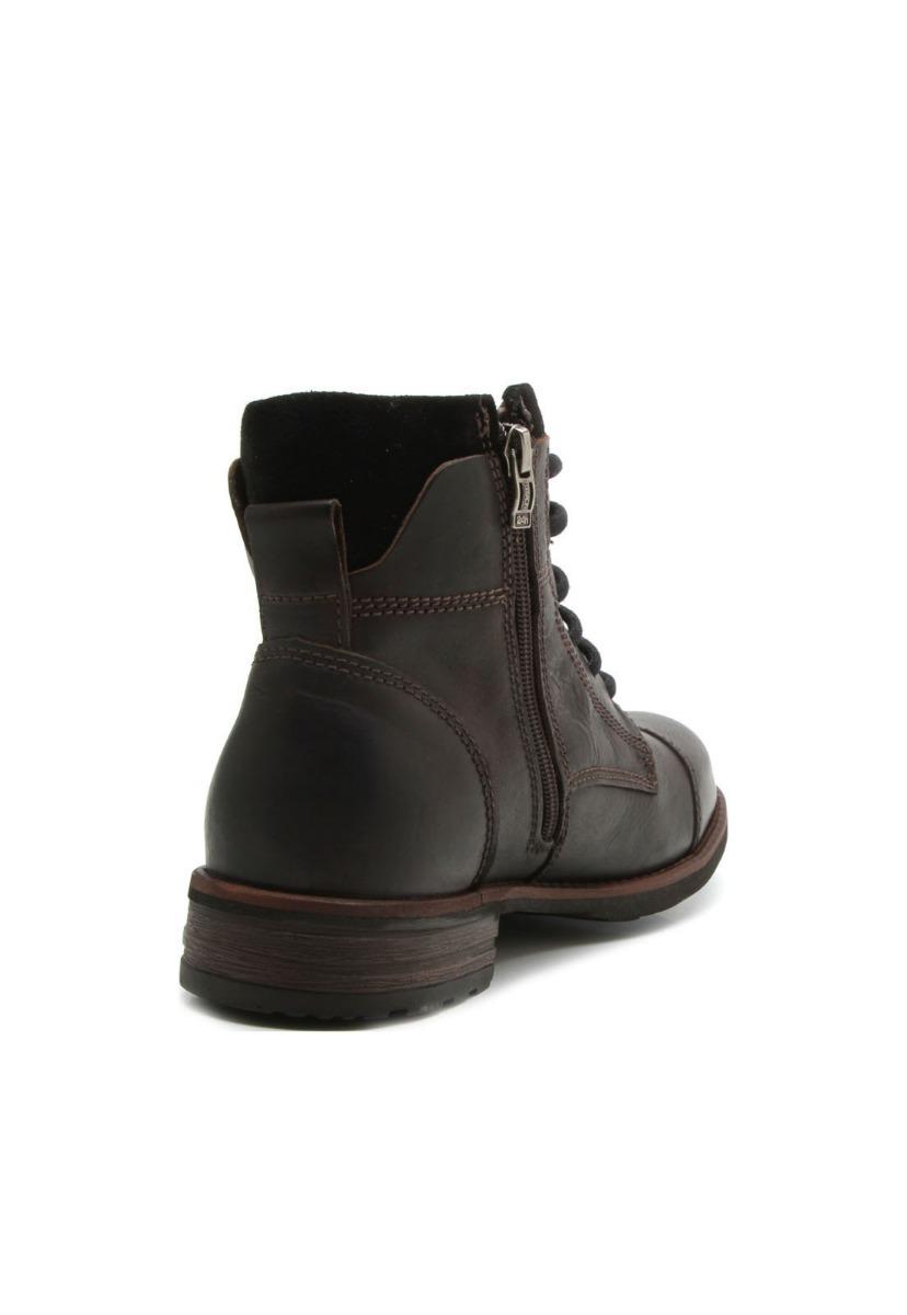 cd6726d560 bota masculino coturno ferracini york 9871 couro café zíper. Carregando  zoom.
