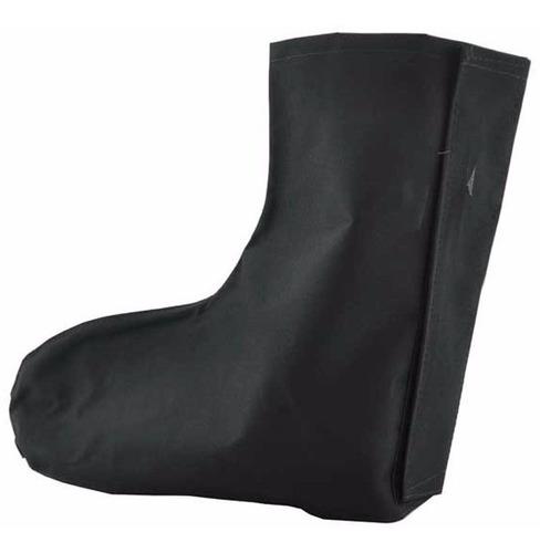 bota meia polaina p/ chuva para motociclista impermeável..