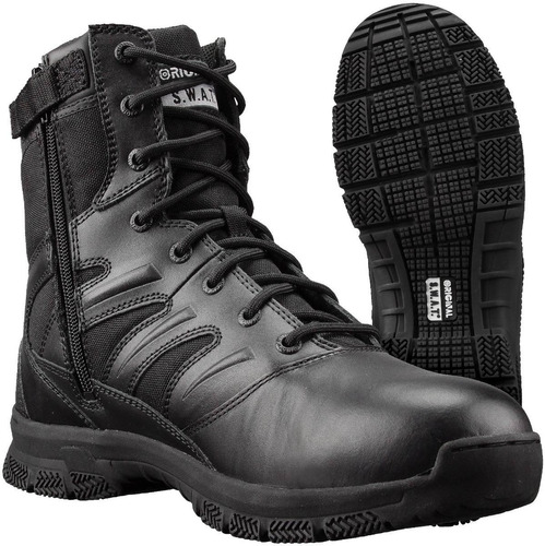 bota militar original swat force 155201 negra