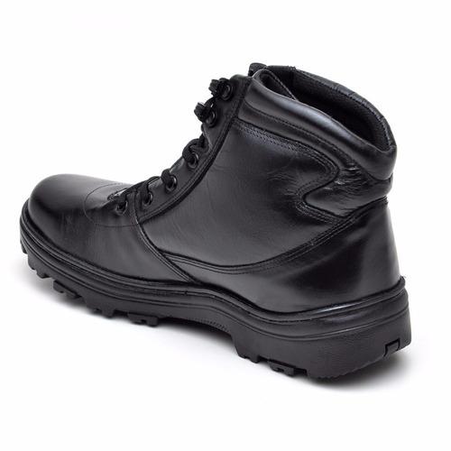 bota militar segurança motociclista atron shoes 272