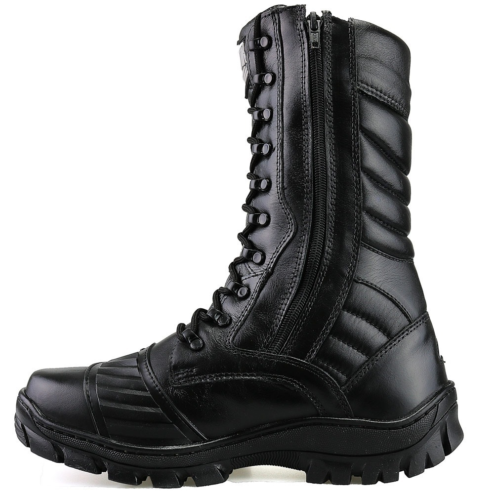 06fe128531 bota militar tatica cano medio coturno couro legitimo dhl. Carregando zoom.
