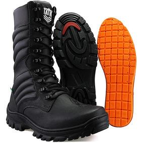 f89a6d430 Coturno Militar Ziper Acolchoado - Calçados, Roupas e Bolsas no Mercado  Livre Brasil