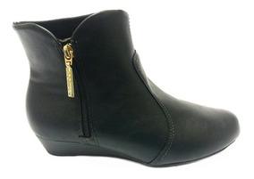 9540dca573b75 Bota Beira Rio Conforto Cano Curto Feminino - Sapatos com o Melhores ...