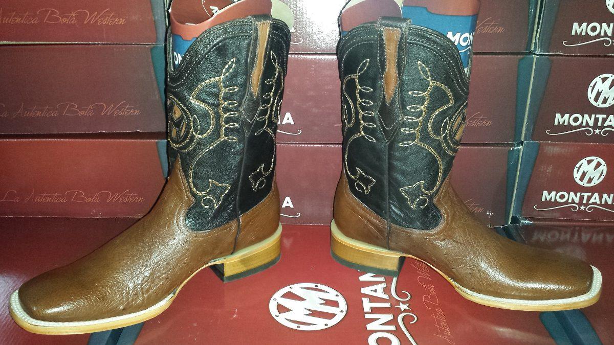 Botas de avestruz color gris ropa bolsas y calzado en mercadolibre - Bota Montana Prorodeo Original Con Garantia Env O Gratis