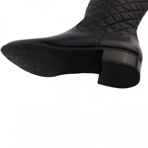 bota montaria capodarte matelassê couro 4012012 promoção