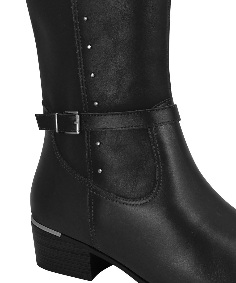 ef01056091 bota montaria comfortflex feminina preta 100% original. Carregando zoom.