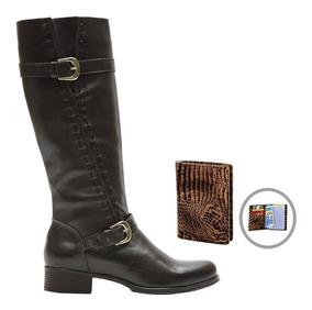 5df6f0746 Francalce Bota Montaria Confort 2416 Feminino - Sapatos com o Melhores  Preços no Mercado Livre Brasil
