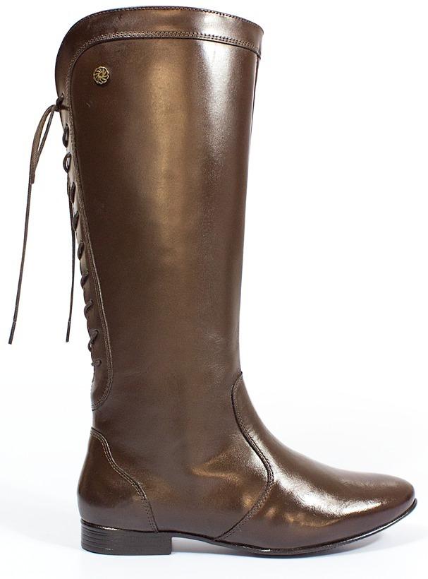 24183c771a5 bota montaria feminina 100% couro cano longo salto baixo. Carregando zoom.