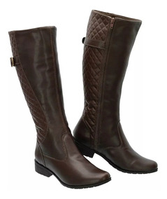 8f2b019dcf Botas Cano Longo - Sapatos para Feminino com o Melhores Preços no Mercado  Livre Brasil