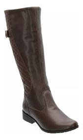 9fe92c21ed Bota Over The Knee Marrom Claro - Sapatos com o Melhores Preços no ...